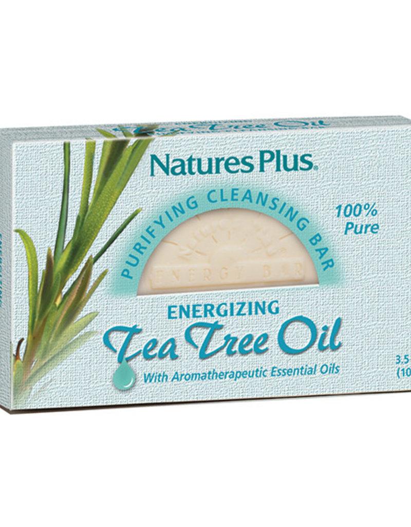 NATURES PLUS SOAP, TEA TREE OIL 3.5 OZ (m3)