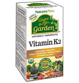 NATURES PLUS SOURCE OF LIFE GARDEN VITAMIN K2 60 VC (m3)