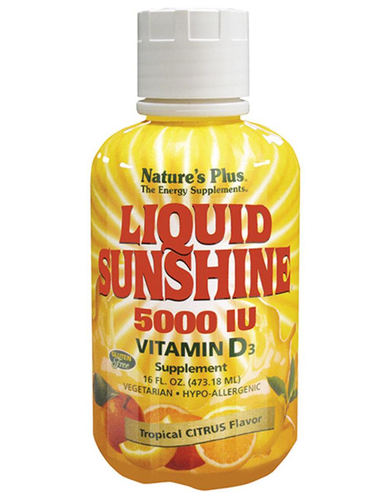NATURES PLUS LIQUID SUNSHINE VITAMIN D 5000 IU 16 FL OZ (m3)