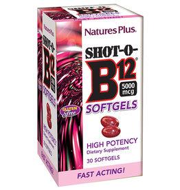 NATURES PLUS SHOT-O-B12 5000 MCG 30 SG (m3)