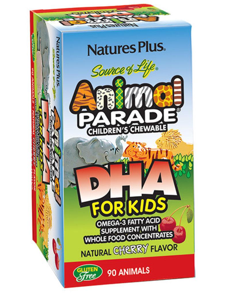 NATURES PLUS ANIMAL PARADE DHA FOR KIDS 90 CT (m3)