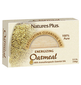 NATURES PLUS OATMEAL CLEANSING BAR 3.5OZ (m3)