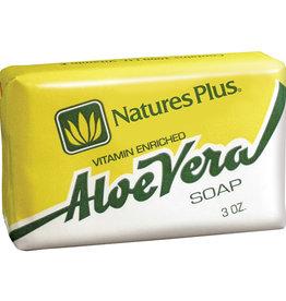 NATURES PLUS ADE ALOE VERA SOAP 3 OZ (m3)