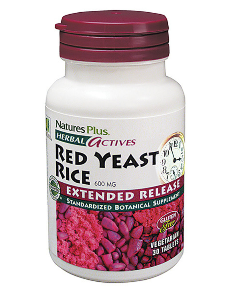 NATURES PLUS RED YEAST RICE EXTENDED RELEASE 600 MG TB 60 (m1)
