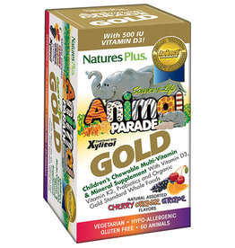 NATURES PLUS ANIMAL PARADE GOLD ASST 120 CT (m1)