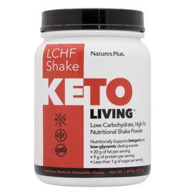 NATURES PLUS KETO LIVING LCHF SHAKE 675 G CHOCOLATE (m1) (di)