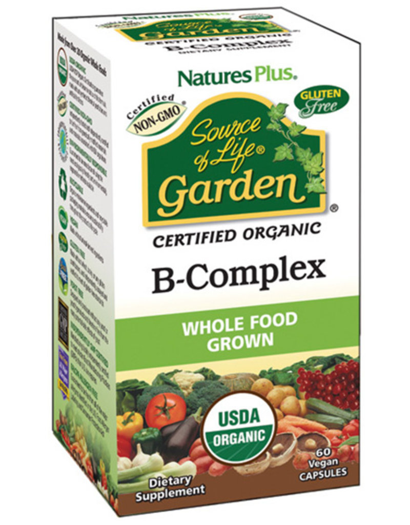 NATURES PLUS SOURCE OF LIFE GARDEN B COMPLEX 60 CP -N