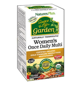 NATURES PLUS SOURCE OF LIFE GARDEN ORGANIC WOMENS DAILY TAB 30 (m1)