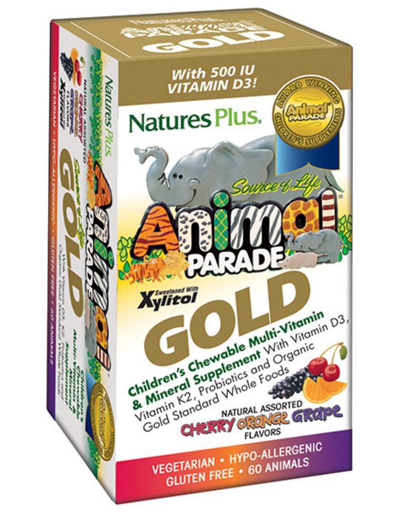 NATURES PLUS ANIMAL PARADE GOLD ASST 60 CT (m3)