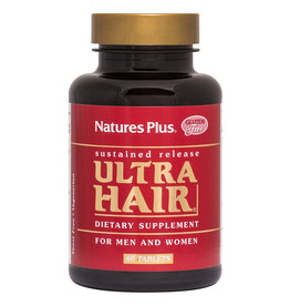 NATURES PLUS Ultra Hair Sustained Release 90 TB