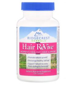 RIDGECREST HERBALS HAIR REVIVE 120 CP