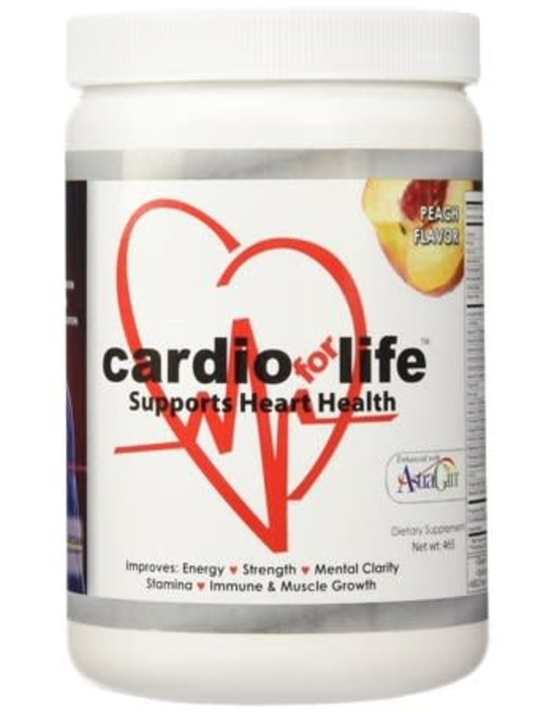CARDIO FOR LIFE CARDIO FOR LIFE - PEACH FLAVOR 30 DAY SUPPLY