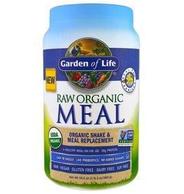 GARDEN OF LIFE Raw Organic Meal Vanilla 969g POWDER (+$3 ASR)