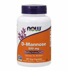 NOW FOODS D-MANNOSE 500 MG