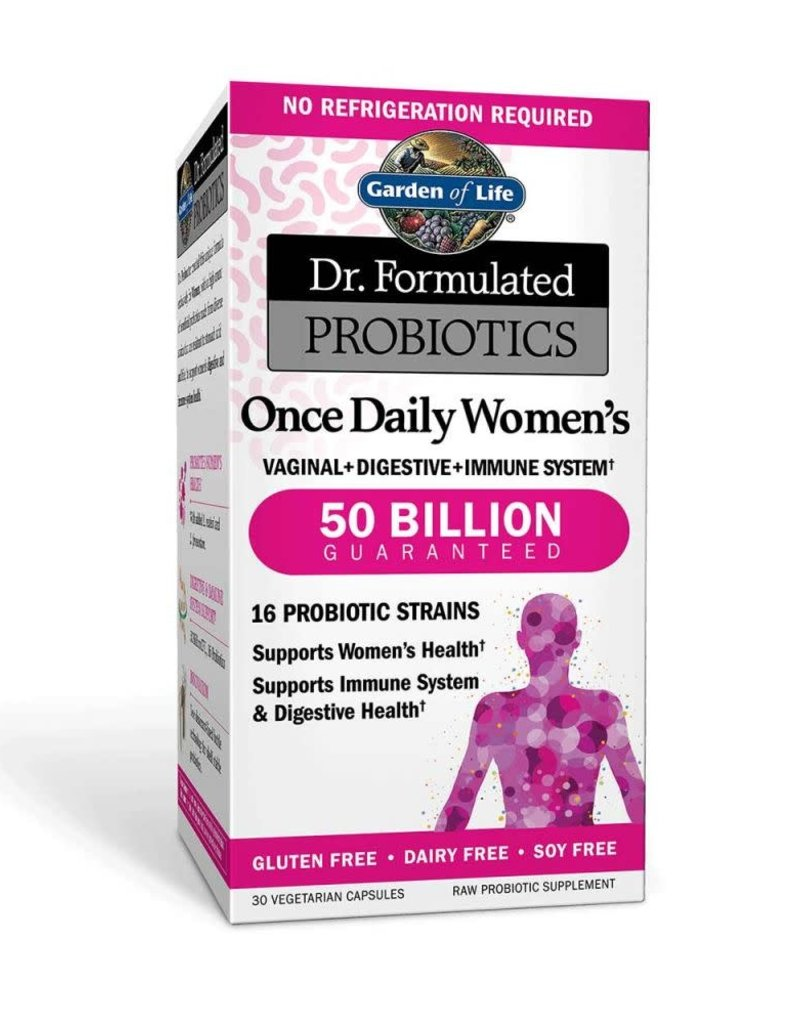 GARDEN OF LIFE DR. FORMULATED PROBIOTICS ONCE DAILY WOMENS (SHELF) 30 CP