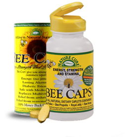 NATURE CURE BEE CAPS 120 CT