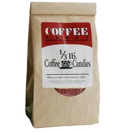 COFFEE GO CANDIES COFFEEGO CANDY BAG 1/3LB KRAFT BAG (single) (m12)