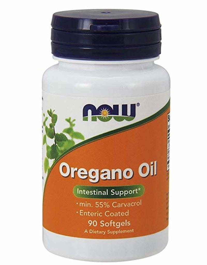 NOW FOODS OREGANO OIL (enteric coated) 90 SG