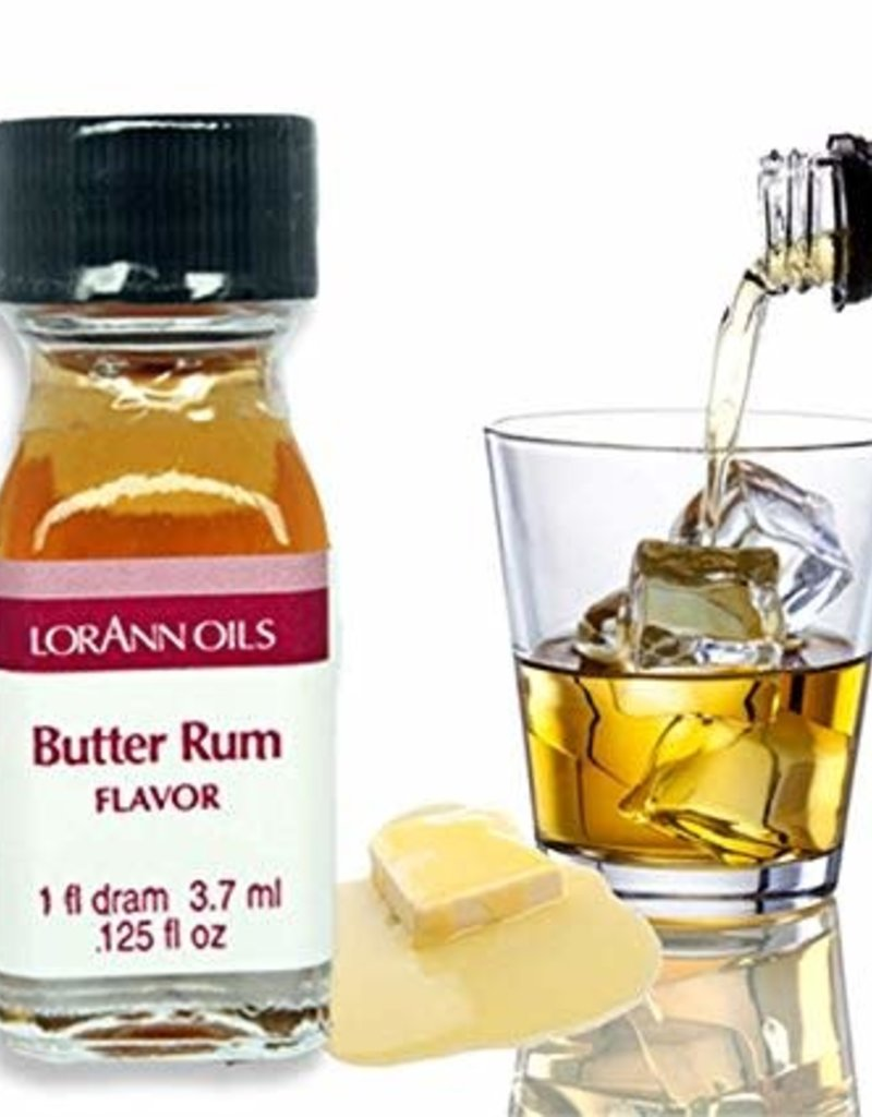 LORANN OILS BUTTER RUM FLAVOR 1 FL DR (m12)