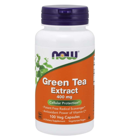 NOW FOODS GREEN TEA EXTRACT 400 MG 100 CP