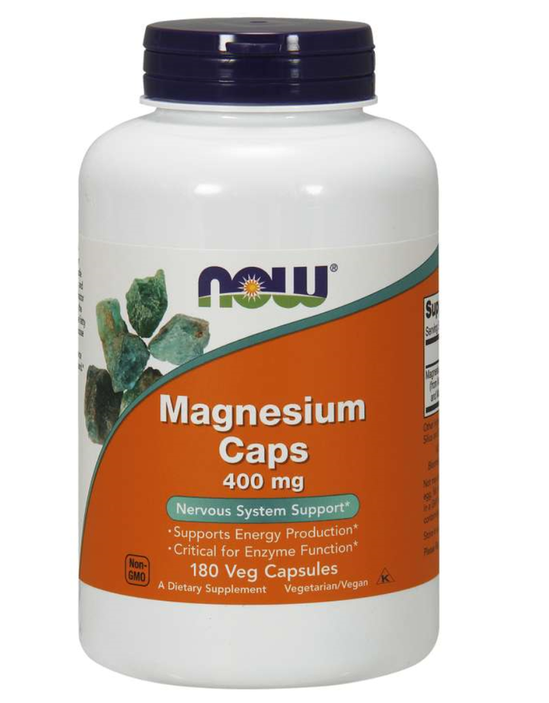 NOW FOODS MAGNESIUM 400MG 180CP