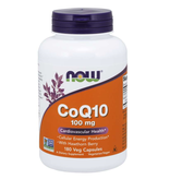 NOW FOODS COQ10 + HAWTHORNE BERRY 100MG