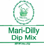 MARI-MANN MARI-DILLY DIP MIX 3/4 OZ PK