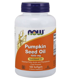 NOW FOODS PUMPKIN SEED OIL 1000 MG