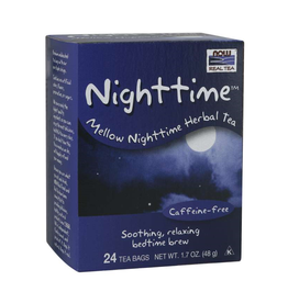 NOW FOODS TEA, NIGHTTIME 24 CT