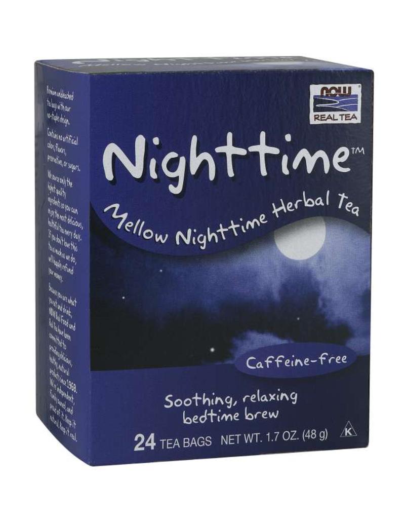NOW FOODS TEA, NIGHTTIME 24 CT