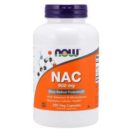 NOW FOODS NAC (N-ACETYL CYSTEINE) 600MG 250CP