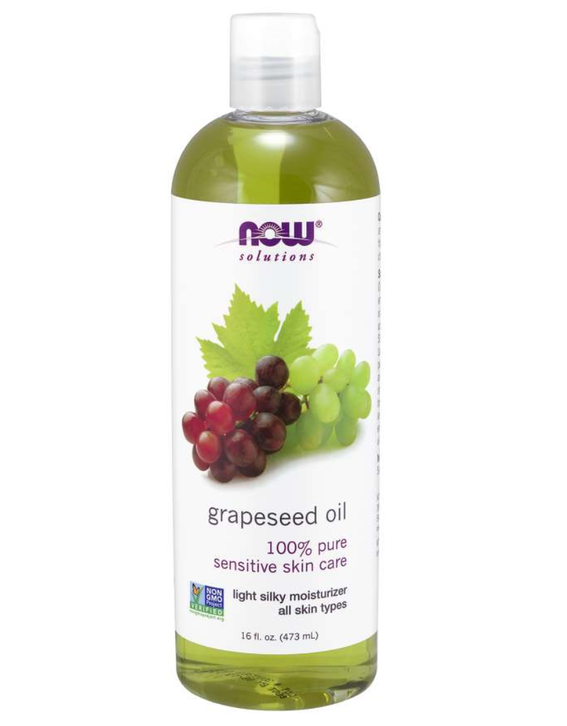 NOW FOODS GRAPESEED OIL, PURE 100%