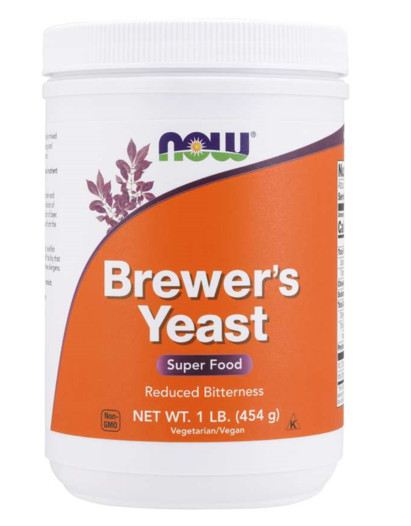 NOW FOODS BREWERS YEAST PWD 1 LB