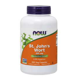 NOW FOODS ST JOHNS WORT 300 MG 250 CP