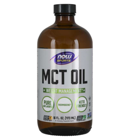 NOW FOODS MCT OIL 100% PURE 16 FO -S - OOSV