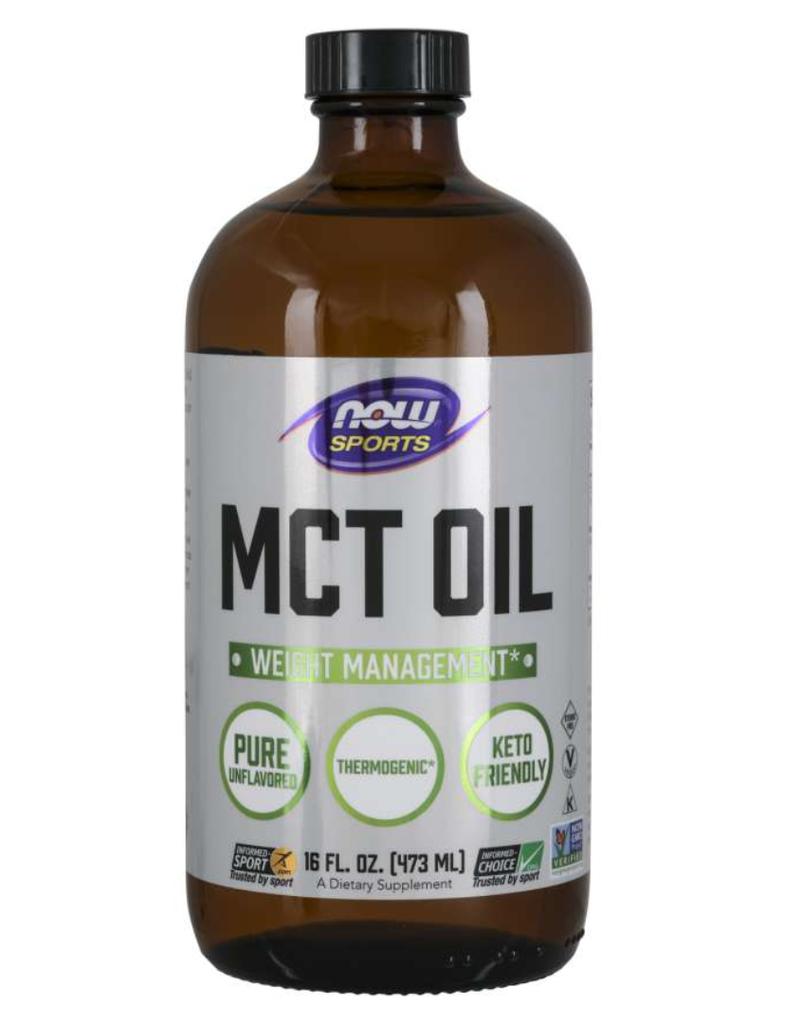 NOW FOODS MCT OIL 100% PURE 16 FL OZ  BTL -S