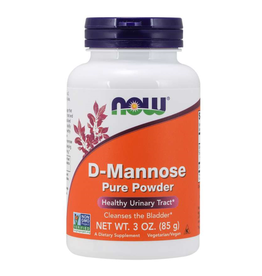 NOW FOODS D-MANNOSE POWDER 3 OZ