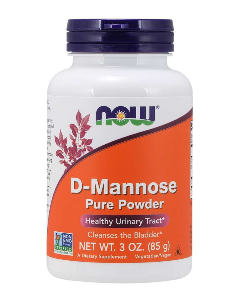 NOW FOODS D-MANNOSE POWDER 3 OZ