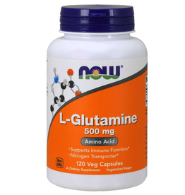 NOW FOODS L-GLUTAMINE 500 MG 120 CP