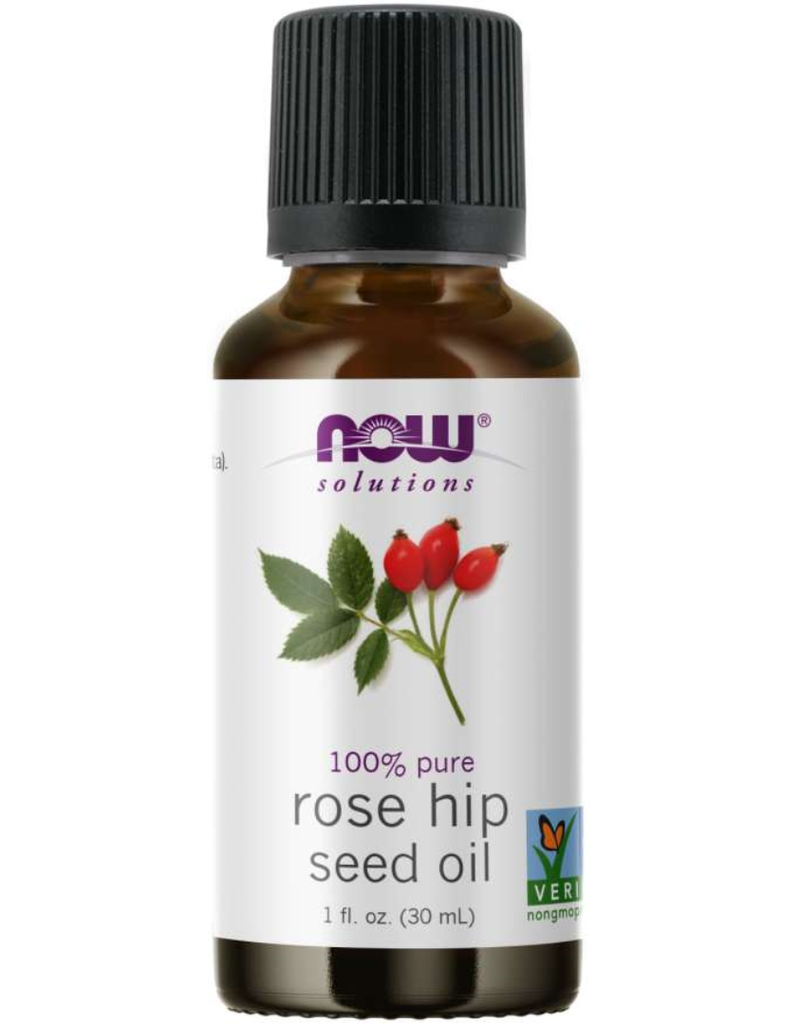 NOW FOODS ESSENTIAL OIL, ROSE HIP SEED OIL 1 OZ
