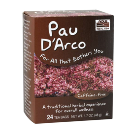 NOW FOODS TEA, PAU D'ARCO 24 CT