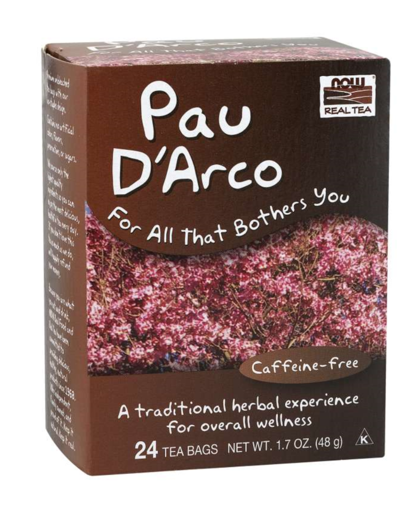 NOW FOODS TEA, PAU D'ARCO 24 CT