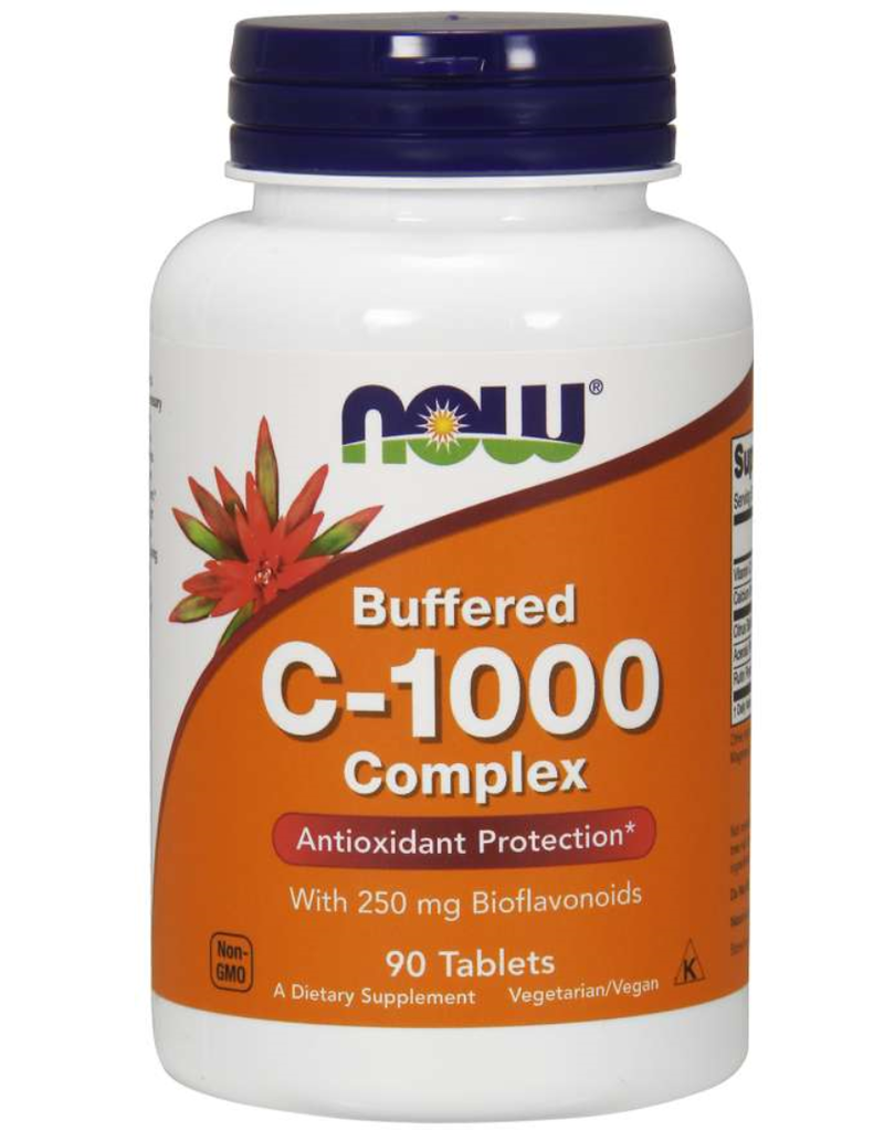 NOW FOODS C-1000 BUFFERED C 90 TB