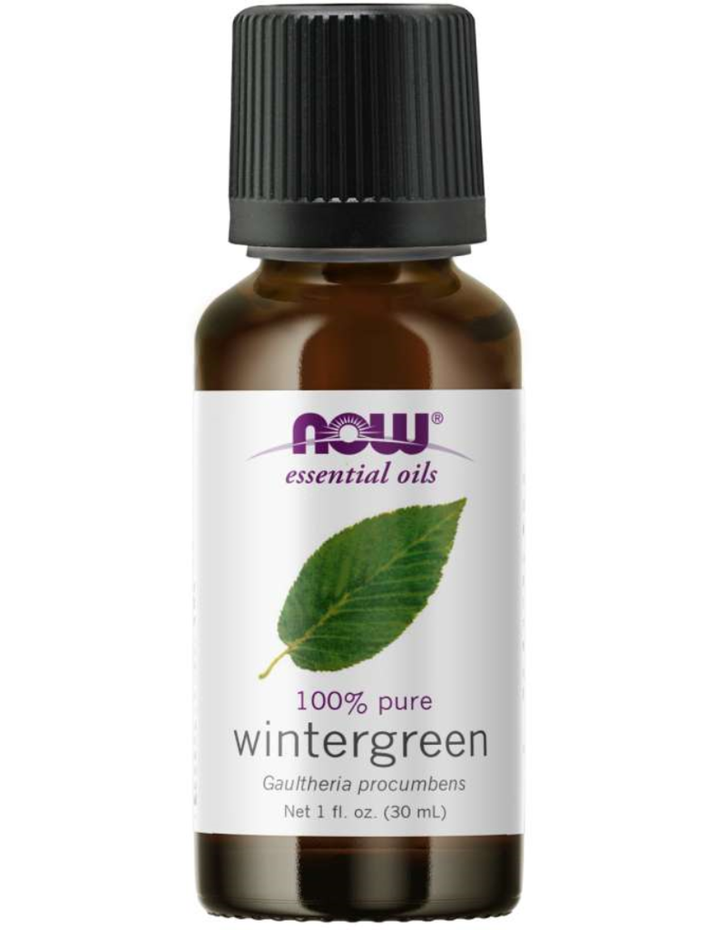 NOW FOODS ESSENTIAL OIL, WINTERGREEN 1 FO