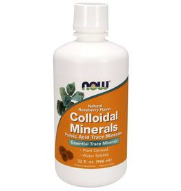 NOW FOODS COLLOIDAL MINERALS 32OZ - S