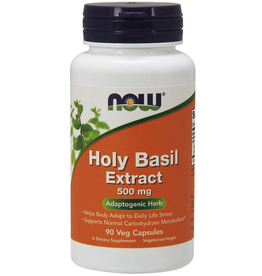 NOW FOODS HOLY BASIL 500MG 90VC