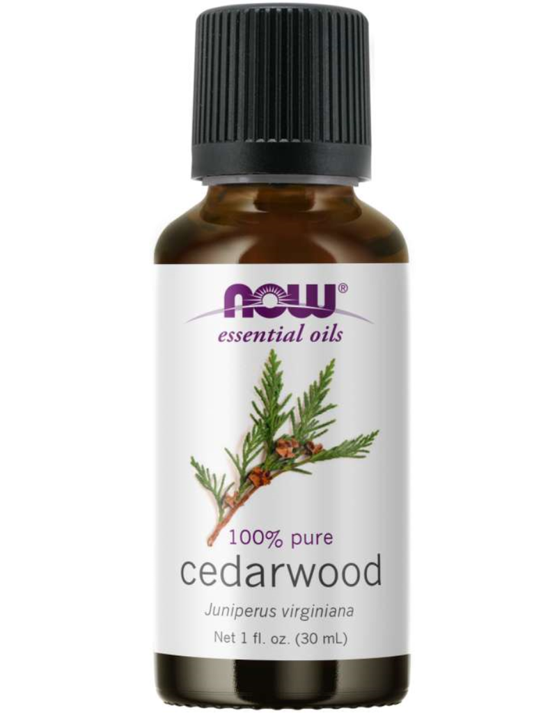 NOW FOODS ESSENTIAL OIL, CEDARWOOD OIL 1 FO