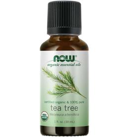 NOW FOODS ESSENTIAL OIL, ORGANIC TEA TREE 1 OZ