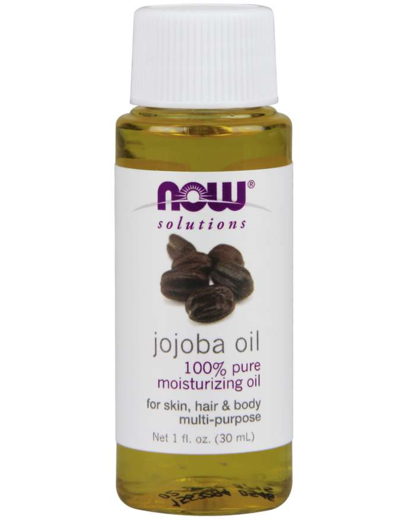 NOW FOODS JOJOBA OIL 1OZ (keep up front)