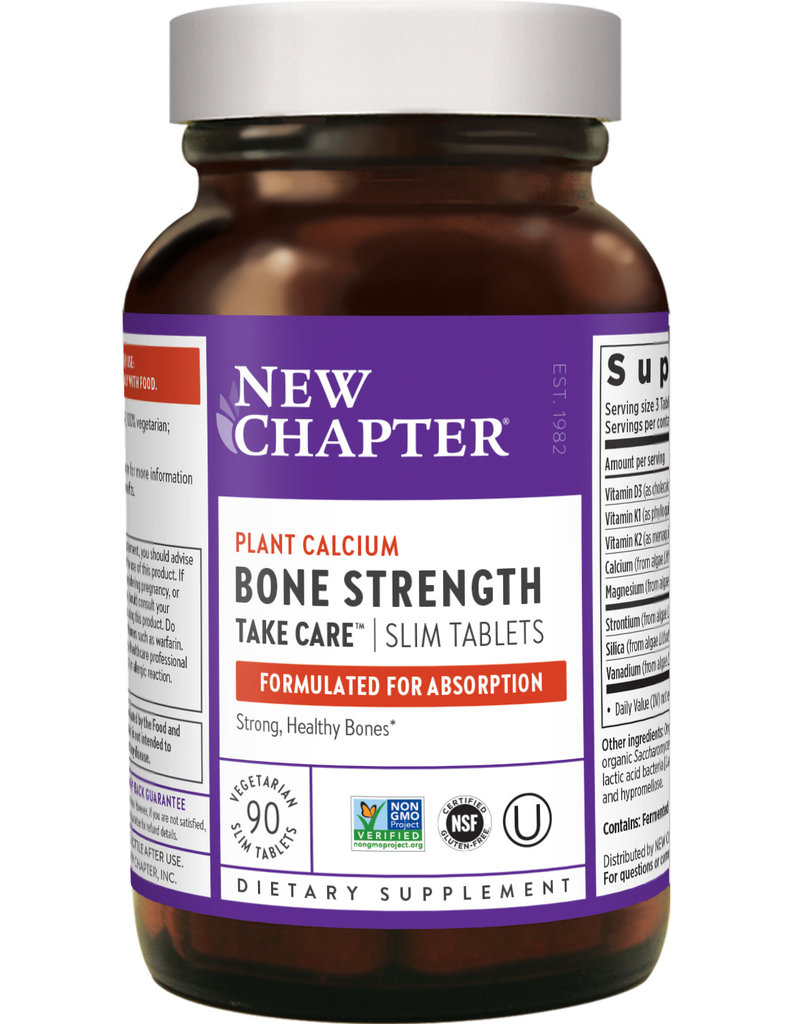 NEW CHAPTER BONE STRENGTH TAKE CARE TB